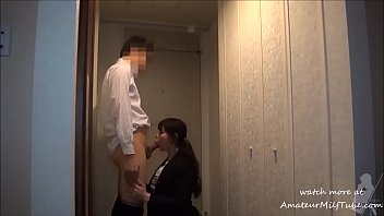 milf asian nurse fuck with her boss after work - visit AmateurMilfTube.com to watch more video