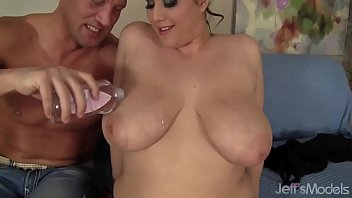 Busty Plumper Angel DeLuca Takes a Big Dick