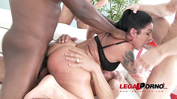 Monster Booty Monica Santiago street pickup with rough double anal   vaginal