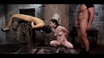 bondage fetish - obedient slave whore loves to follow instructions - http://GIFALT.COM - bdsm rough sex