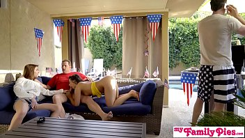 July 4th Threesome With Teen Step Daughter And Hot BFF! S3:E3