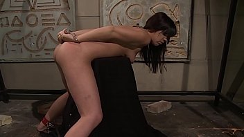 Young trained bimbo, Gina. Part 2. The painful continuing.