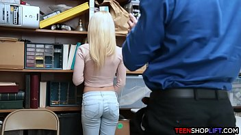 Tiny boobs blonde porn star - Tiny teen makes a deal with lp officer after stealing