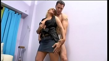 Salacious blonde housewife from Argentina with curvacious figure Mijail is glad when her cunt is well drilled and big natural tits are creamed