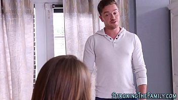 Teen stepsister pounded