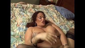 Hot Gina De Palma and manly dude have hardcore fuck in the bedroom