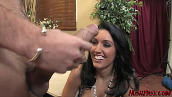 Hot Busty Dylan Ryder Rides The Whitezilla