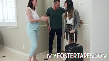 Foster Daughter Intimacy Keeps Family Together - Sovereign Syre, Harmony Wonder - FULL SCENE on http://MyFosterTapes.com