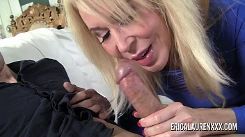 Pornstar MILF Erica Lauren has a thing for younger men