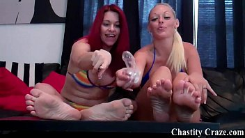 You will spend the rest of your life in chastity