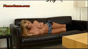 Apple bottom jeans and fur boots Blonde cam girl in boots teases