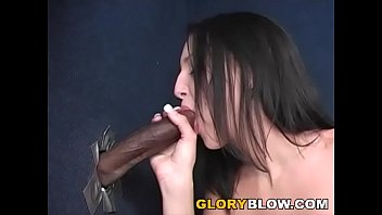 Image: Petite Deja Dare Sucks BBC - Gloryhole