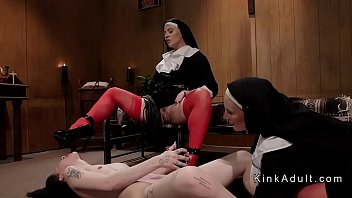 Naked nuns with pics Two dominant nuns anal fucks brunette