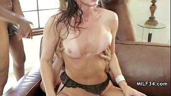 Horny milf and greasy garage cock