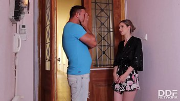 CoverSultry Italian Stella Cox gives her neighbor the best blowjob of his life