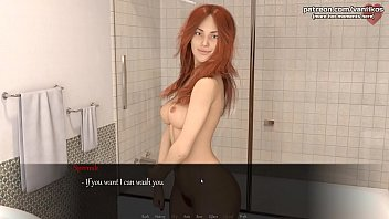 Petite readhead girlfriend with a nice hot ass gets a pussy creampie l My sexiest gameplay moments l Life's Madness l Part #2