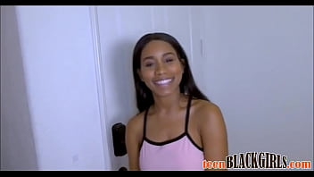 Cute Black Teen Big Natural Tits Fucked By White Guy