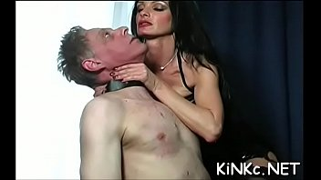 Female-dominant fists slave'_s booty