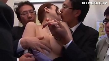 Japanese sex on a train