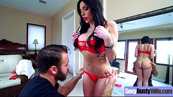 Busty Horny Housewife (Jaclyn Taylor) Enjoy Hard Style Sex Action movie-19