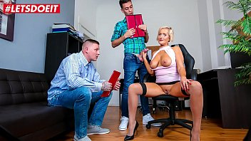 LETSDOEIT - You Want This Job! Give Me Your Cocks And You'll Pass The Interview - Leni