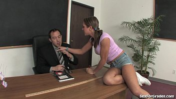 Bad Girl Teen Seduces Her Teacher