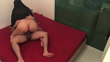 HIDDEN CAM !! I FUCKED MY FRIEND'S HIJAB WIFE WHILE HE IS AT WORK !!