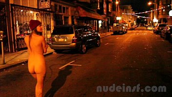 Neelesha bavora nude - Nude in san francisco: short clip of girl walking streets naked late at night