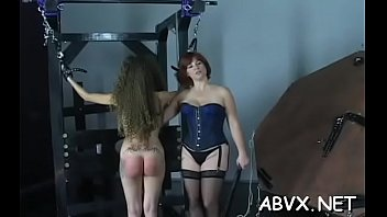Chick spanked and drilled
