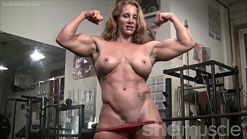 Female naked bodybuilders Naked female bodybuilder sexy red headed muscle