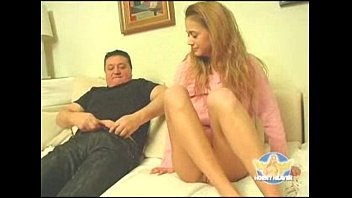 Skinny Teen Girl Gets Fucked by OId Fat Guy