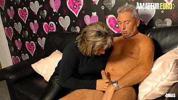 XXX OMAS - German Husband Fucks His Wife On Cam - First Porn Sex Tape Ever!