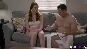 Redhead chicc Arietta Adams gets a hard dick down and moans as she gets banged so hard