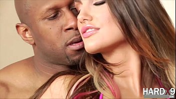 Sexy big tits August Ames in Interracial hardcore sex with Prince
