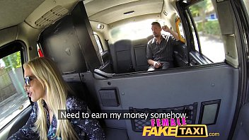Female Fake Taxi Cocky Fella Shown Who's The Boss