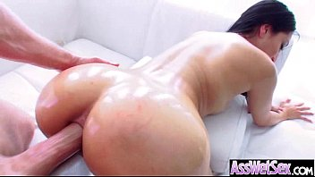 Oiled Girl (vicki chase) With Big Butt Enjoy Anal Deep Sex movie-30