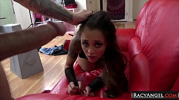 21yo Petite Sized Tattooed Starlet Holly Hendrix Deepthroat Ass to Mouth Hardcore with Bryan Gozzling 6 min