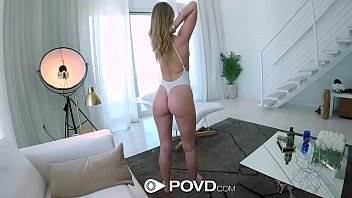 POVD High rise stairway blowjob and fucking with Daisy Stone