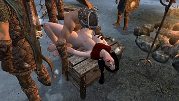 Elder scrolls sex mods Rina in trouble
