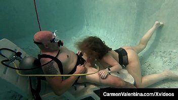Videos underwater blowjobs Scuba diver carmen valentina sucks fucks a cock underwater