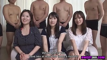 three japanese wives get into an orgy