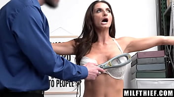 Mommy with Awesome Big Boobies Silvia Saige Fucked in The Office