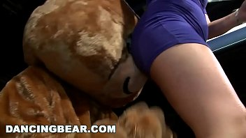 DANCING BEAR - Insane CFNM Party With Crazy, Wild Women Going Hard