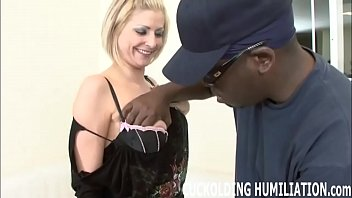 Im getting filled with black cock while you watch