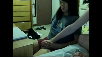 Asian Teen Gets Licked In Dorm - More At CamPassion.net