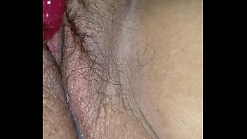 Bbw duca wife vibrator after creampie - again