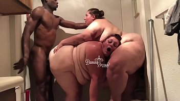 2 BBWs take on 1 BBC