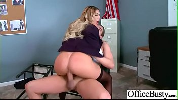 Hard Sex With Naughty Sexy Big Round Boobs Office Girl (August Ames) Movie-03