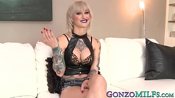 Tattooed MILF Kleio Valentien has a steamy fuck session