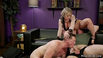 Wife fucks coach and her husbands
